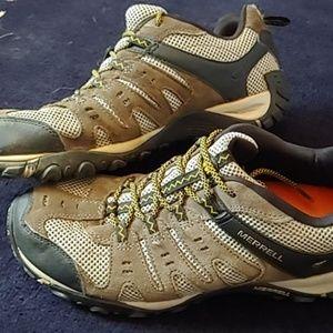 Men's MERRELL Boulder 11.5 Hiking Trail Sneaker